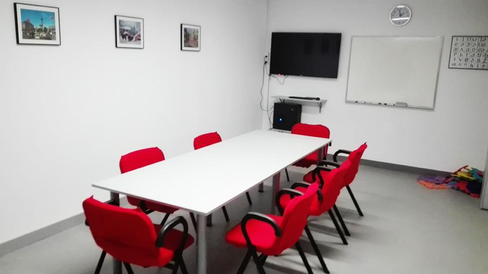 Elduaien Andoain classroom