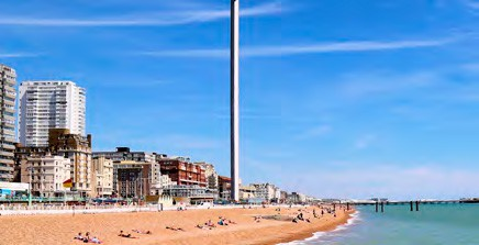 inglés en Brighton. 2020